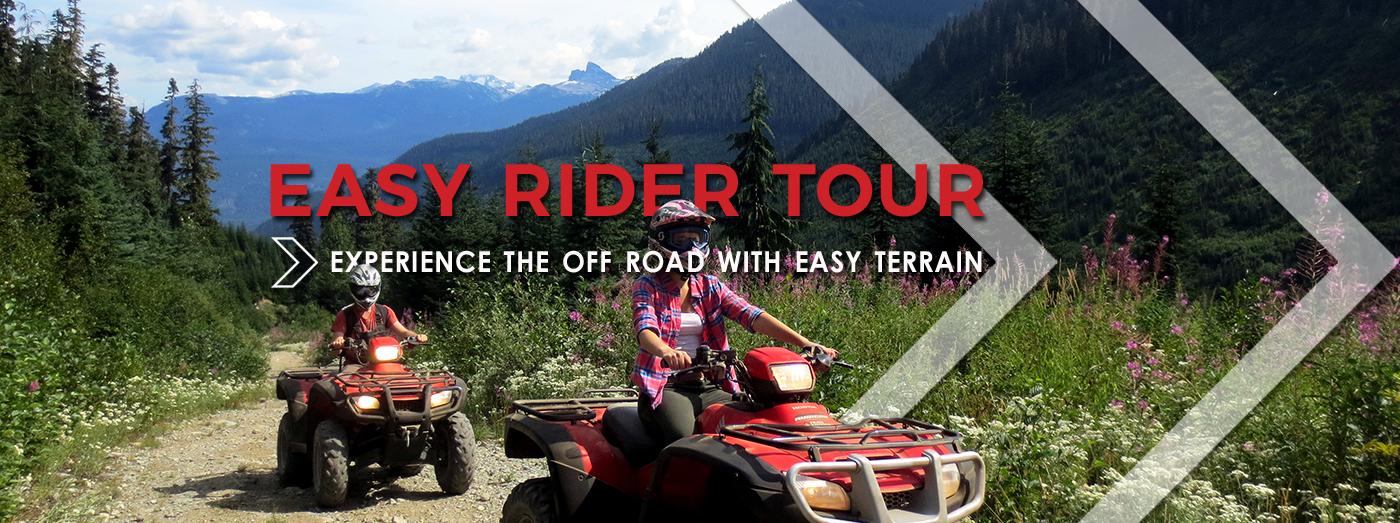 Easy Rider Tour • Whistler ATV
